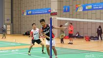 Melihat Latihan Tim Bulutangkis Indonesia Jelang Lawan Denmark