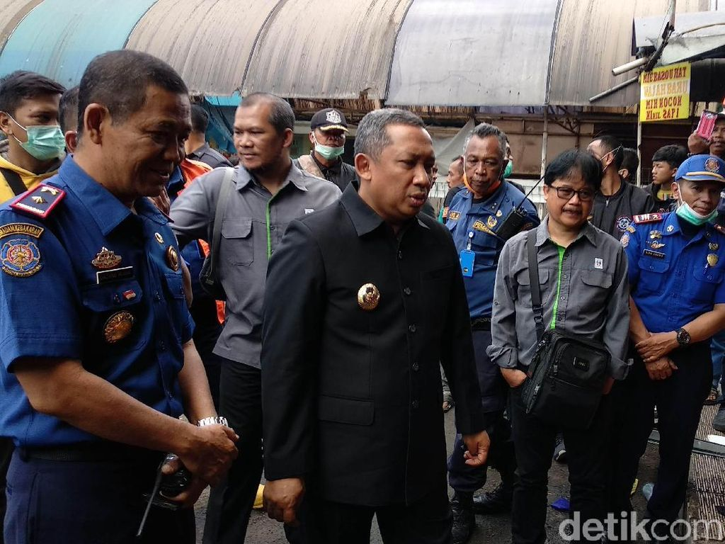 Pasar Kosambi Kebakaran Hebat, Wawali Bandung Minta Audit Bangunan