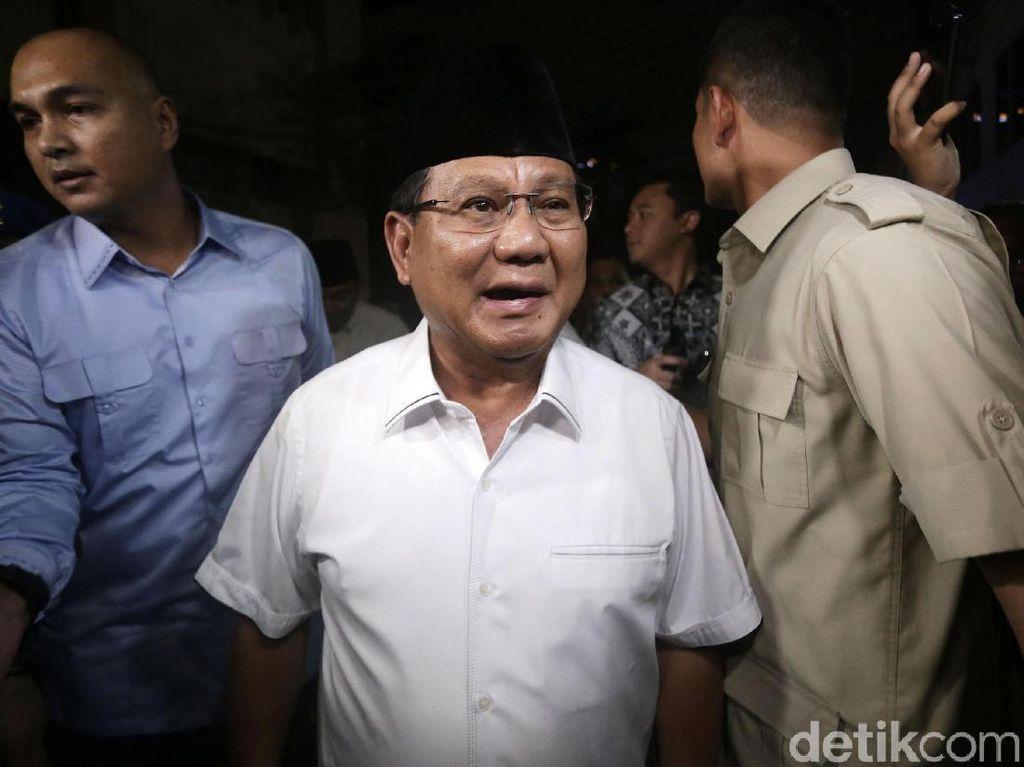 Prabowo soal Eggi-Lieus: Mereka Tidak Bersalah, Kok Ditahan Seperti Kriminal?