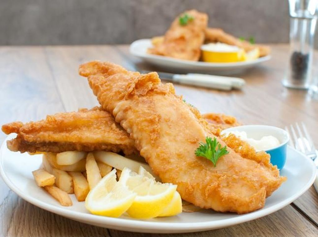 Fillet Ikan Untuk Fish and Chips Pakai Kulitnya atau Tidak? Ini Penjelasan Chef