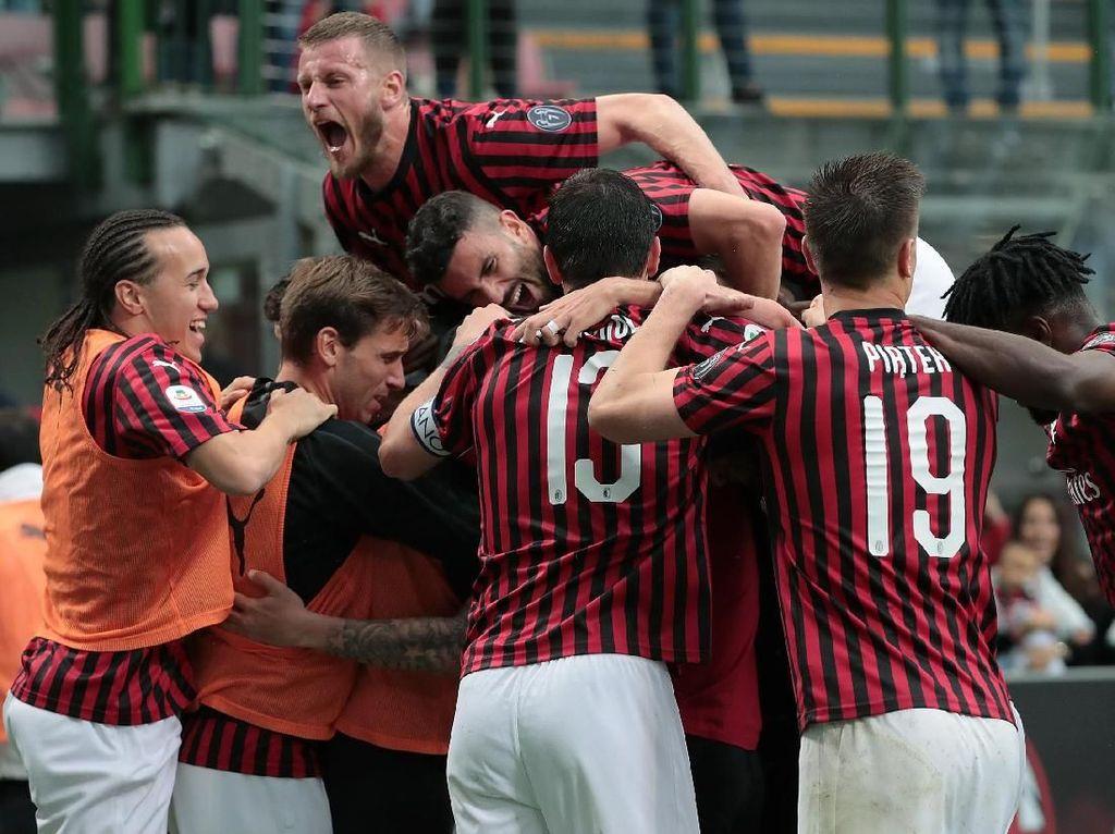 AC Milan Legawa Tak Bisa Tampil di Liga Europa 2019/2020