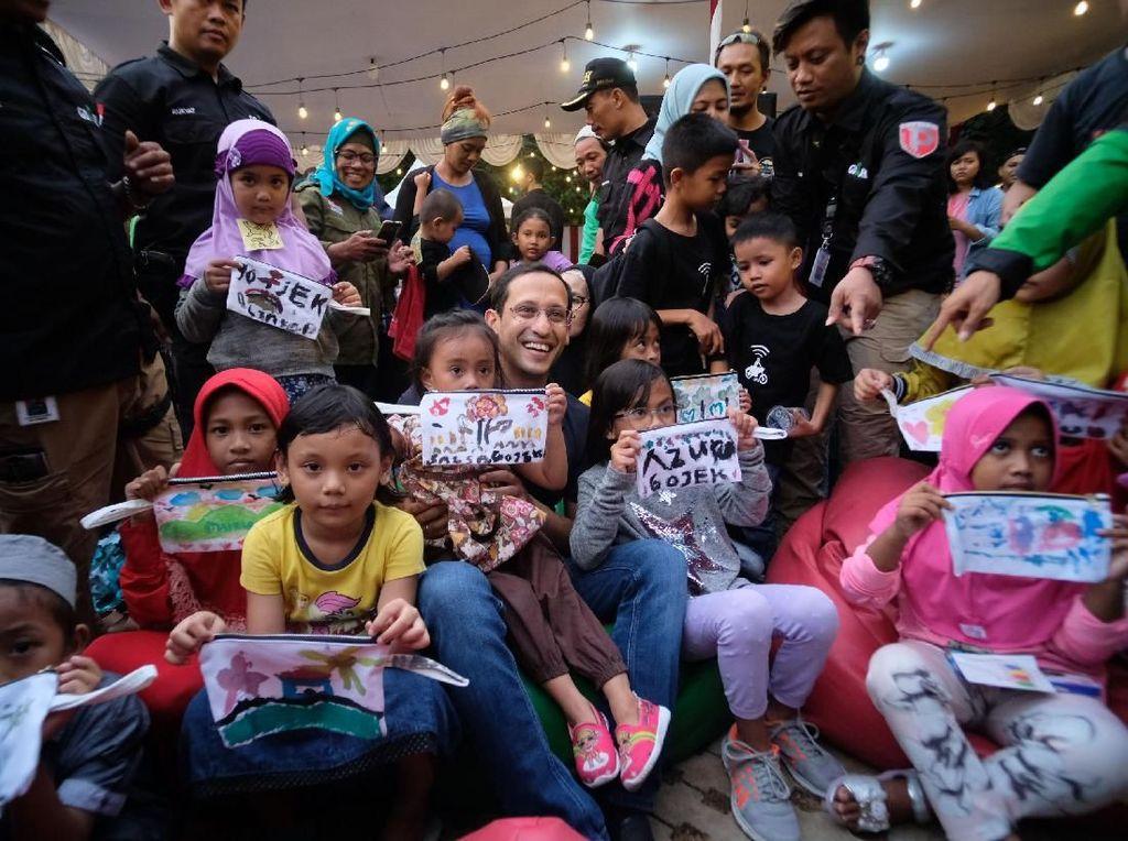 Go-Jek Berbagi Berkah Bersama 10.000 Anak Yatim Piatu dan Mitra Driver