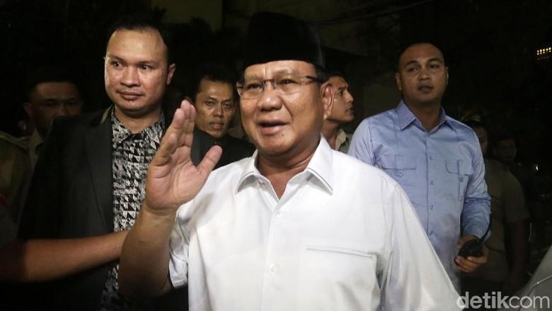 Prabowo Subianto Putuskan Sikap Politik pada 17 Oktober