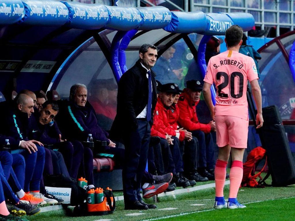 Valverde Akui Barcelona Kurang Motivasi di Laga Terakhir