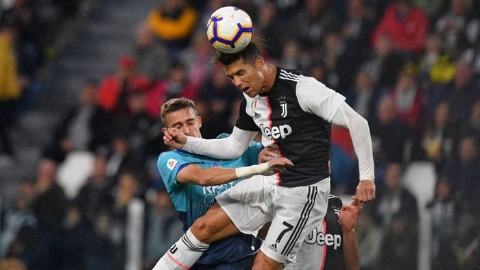 Juventus ditahan imbang Atalanta 1-1. (Foto: Tullio M. Puglia/Getty Images)