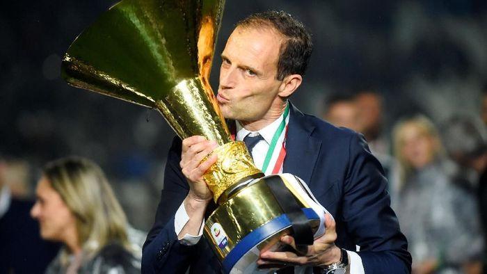 Juventus tengah berusaha mencari pengganti Massimiliano Allegri (Dok. Reuters)