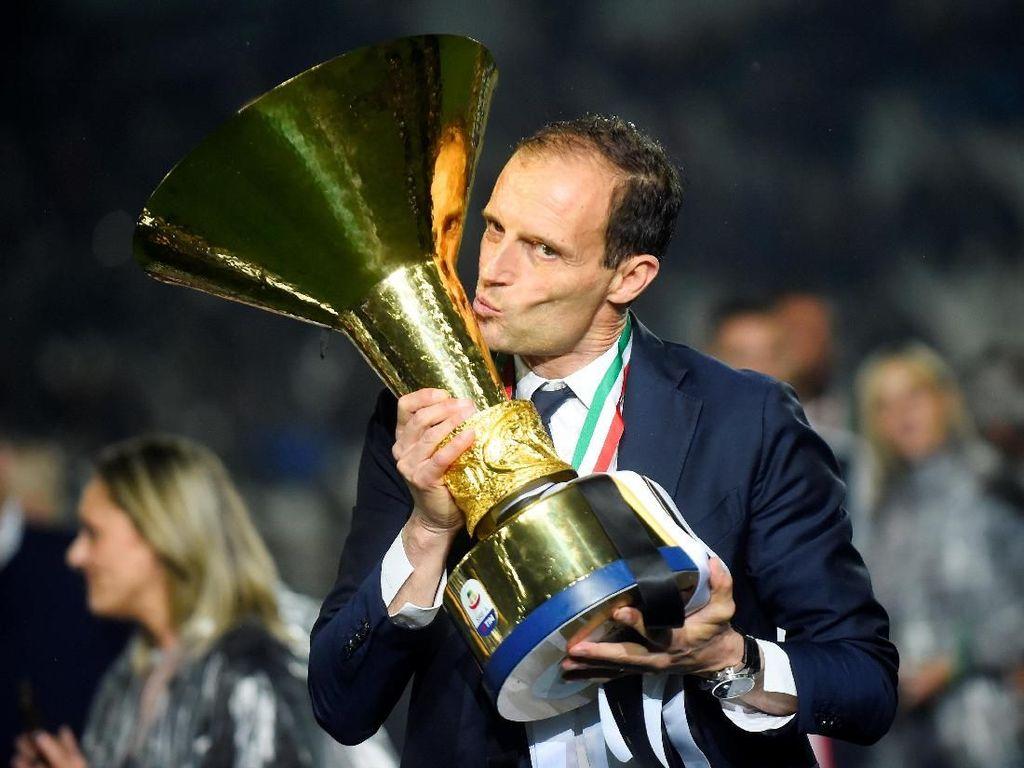 Pesta Juara Juventus, Pesta Perpisahan Allegri