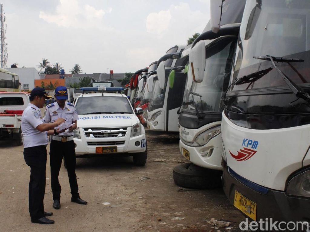Dishub Cek Kesiapan Bus Mudik Gratis Pemkot Cimahi