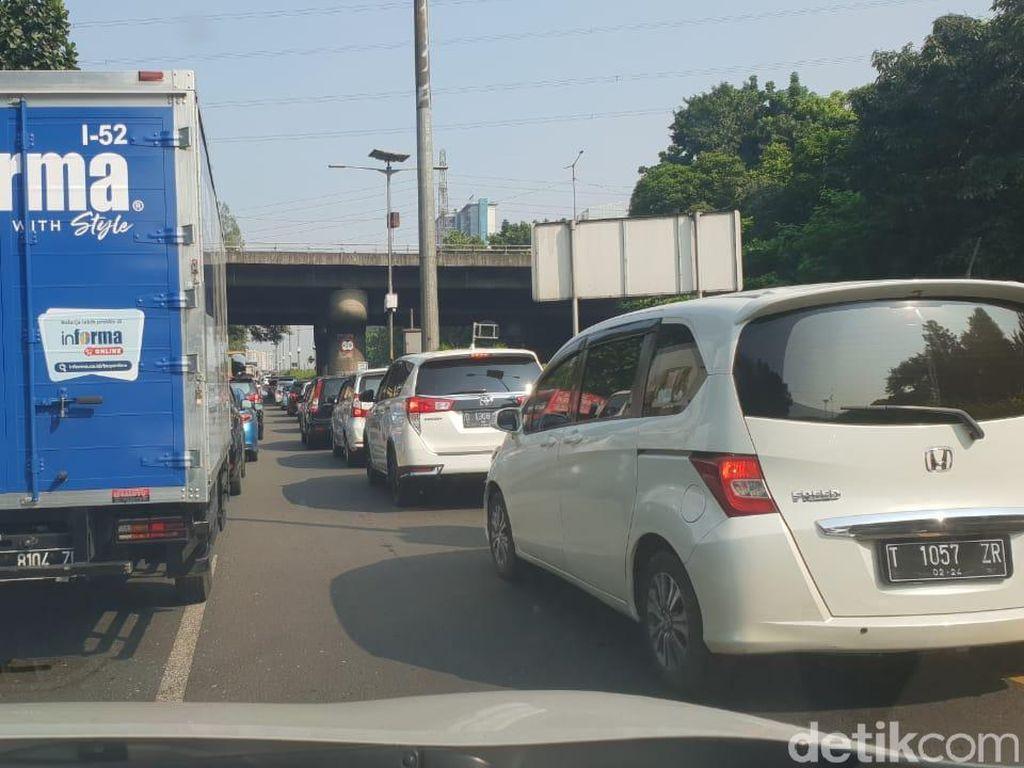 Pagi Ini, Kemacetan Terjadi di Sejumlah Ruas Tol Sekitar Jakarta