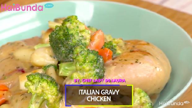 Menu Sahur: Italian Gravy Chicken