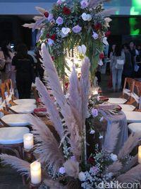 Dekorasi ijab kabul di Bali