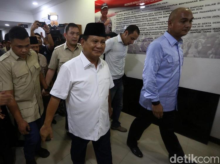 Sikapi Penetapan Hasil Pemilu, Prabowo Gelar Konferensi Pers