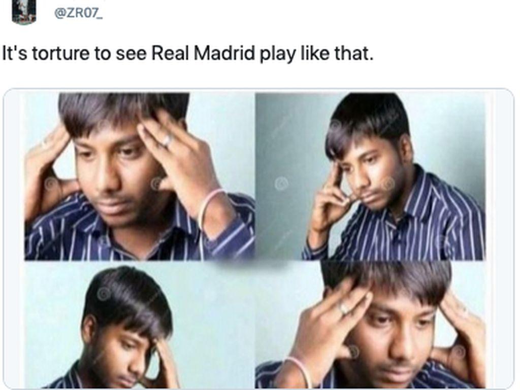 Meme Madrid Kalah di Laga Tutup Musim: Thanos Sampai Ronaldo
