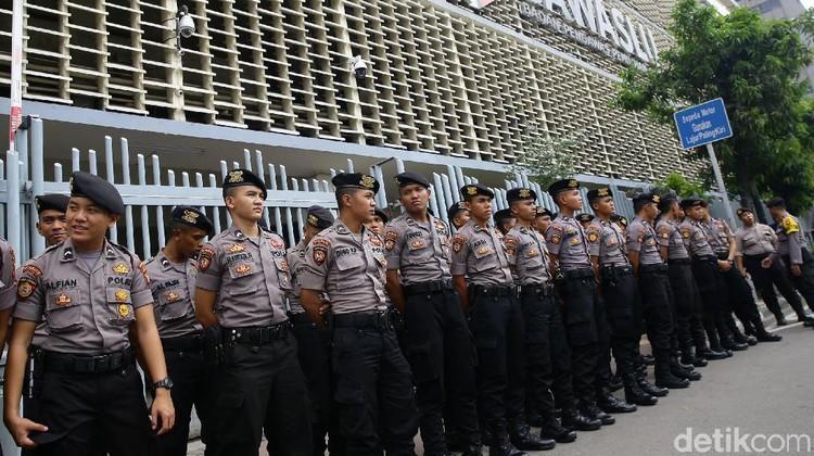 Pengamanan Bawaslu Pasca Pengumuman Hasil Rekapitulasi