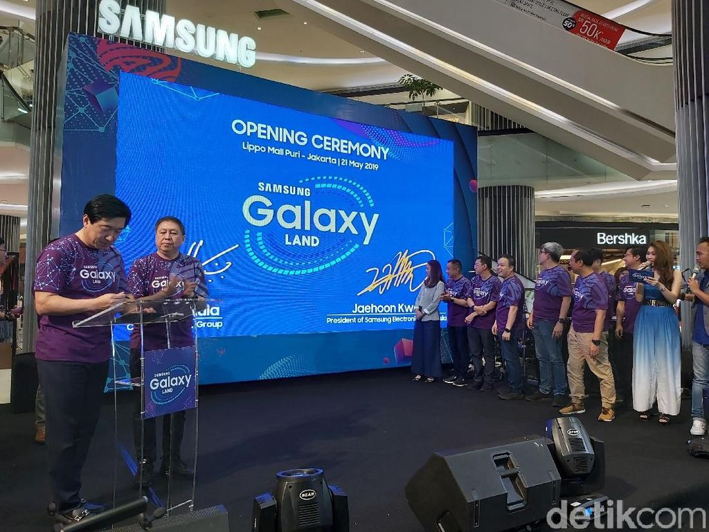 Samsung Hadirkan Galaxy Land Pertama di Indonesia