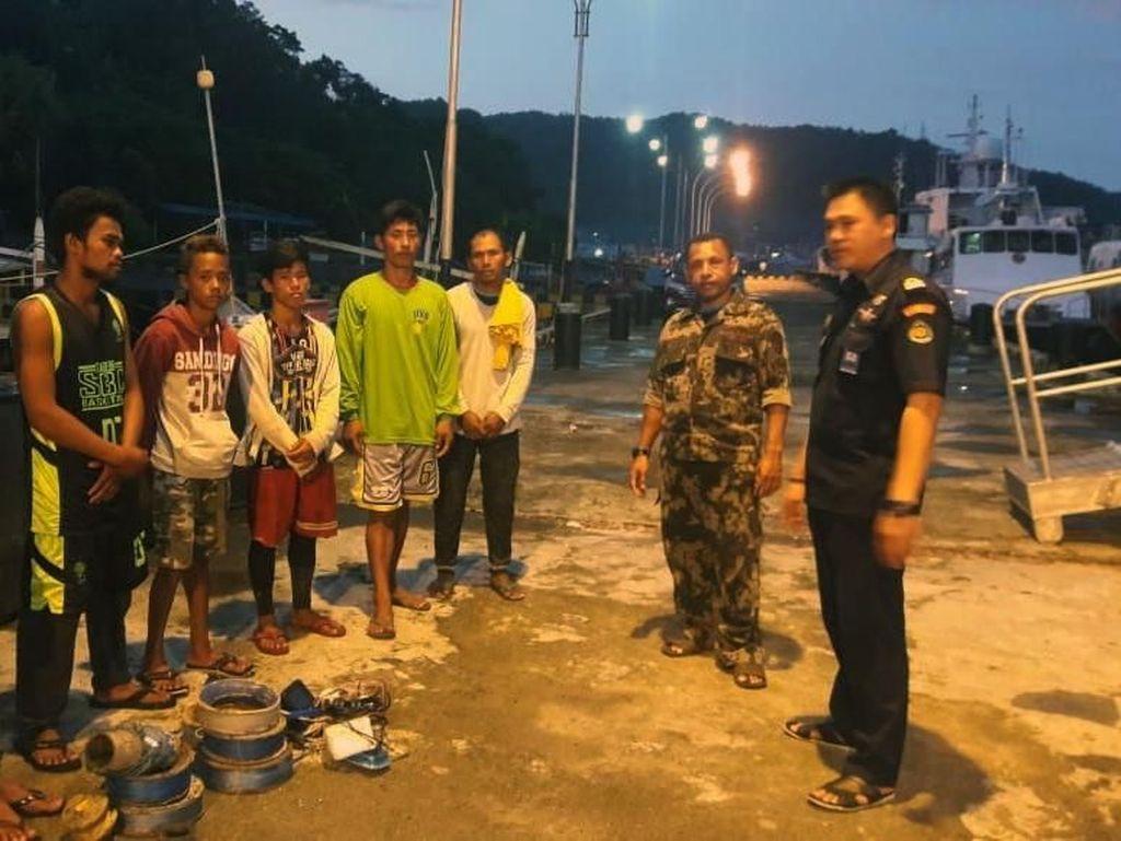 Maling Ikan, Kapal Asal Filipina Ditangkap KKP