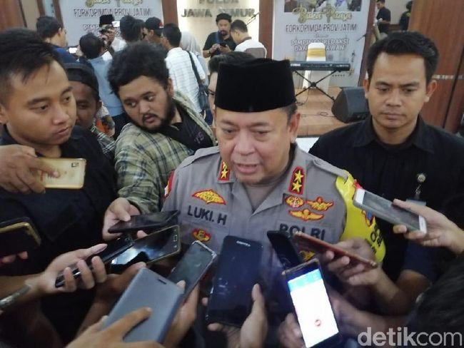 Berita Polda Jatim Klaim Hadang 1.700 Massa Peserta Aksi 22 Mei di Jakarta Sabtu 24 Agustus 2019