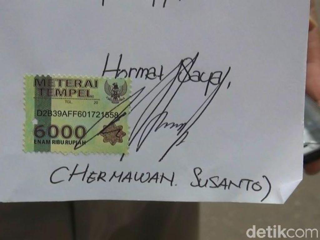 Kirim Surat ke Istana, Pria Pengancam Penggal Jokowi Minta Maaf