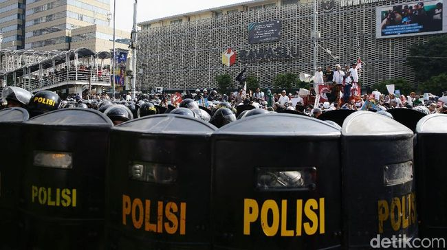 Berita Polisi Tangkap 20 Lebih Provokator, Diamankan di Polres Jakpus Minggu 16 Juni 2019
