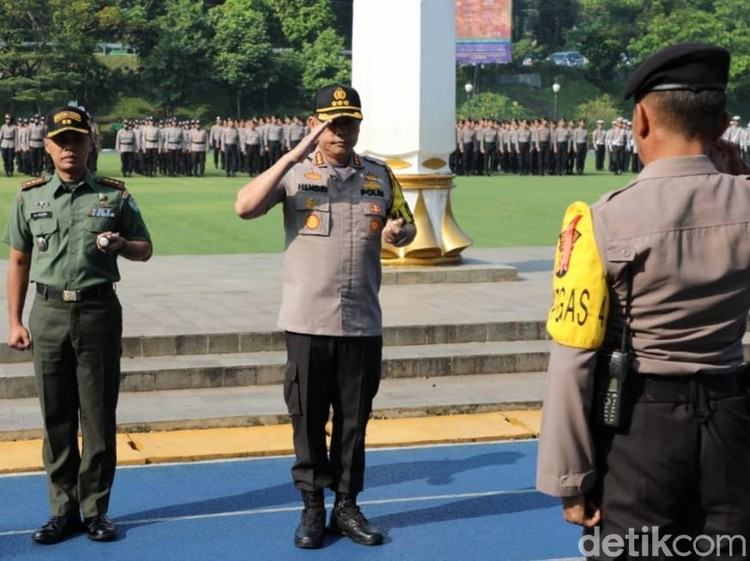 Polisi Perketat Pengamanan Sekitar Istana Bogor Pasca-pengumuman KPU