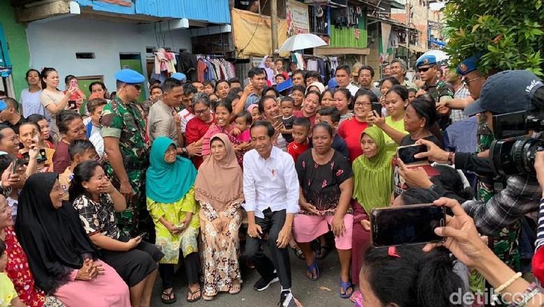 Tentang Kampung Deret yang Jadi Lokasi Pidato Kemenangan Jokowi