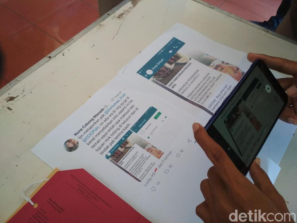 Guru di Garut Sebar Ajakan Mengebom Jakarta Dijerat UU Terorisme