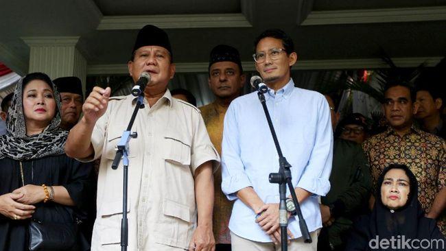 Berita Prabowo Soroti KPU Tetapkan Hasil Dini Hari Jumat 20 September 2019