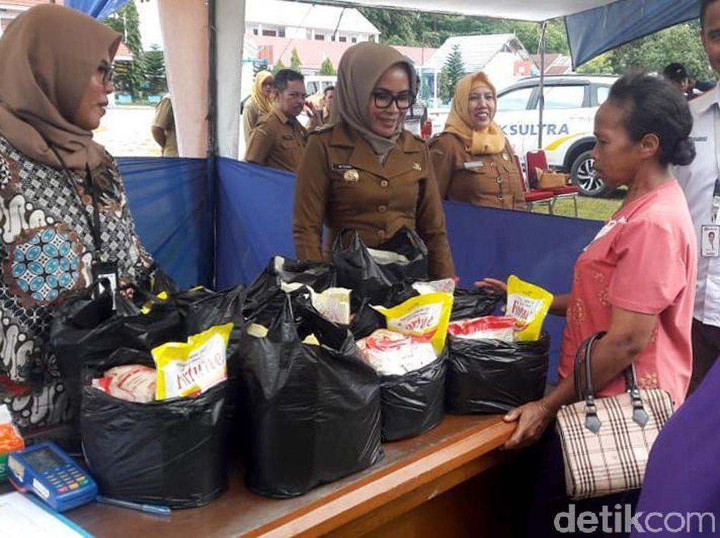 Pasar Murah di Buton Jual Barang Separuh Harga