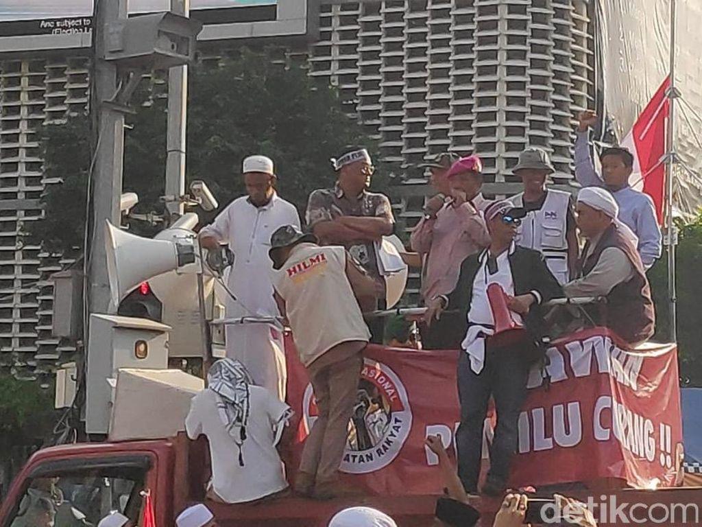 Letjen Purn Suharto Orasi di Depan Bawaslu, Bicara Kecurangan Pemilu