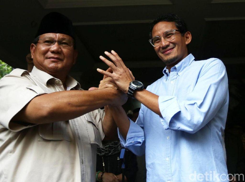 Prabowo-Sandiaga Tak Hadiri Pemakaman Ani Yudhoyono
