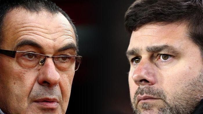 Juventus di antara Maurizio Sarri atau Mauricio Pochettini (Getty Images)