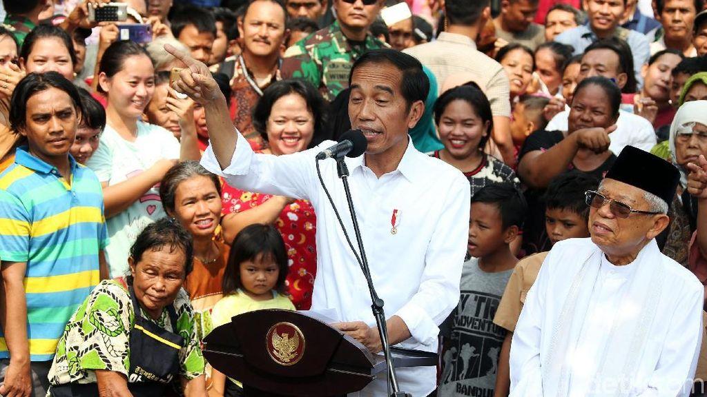 Melihat Lagi Momen Jokowi di Johar yang Ternyata Diincar Provokator 22 Mei