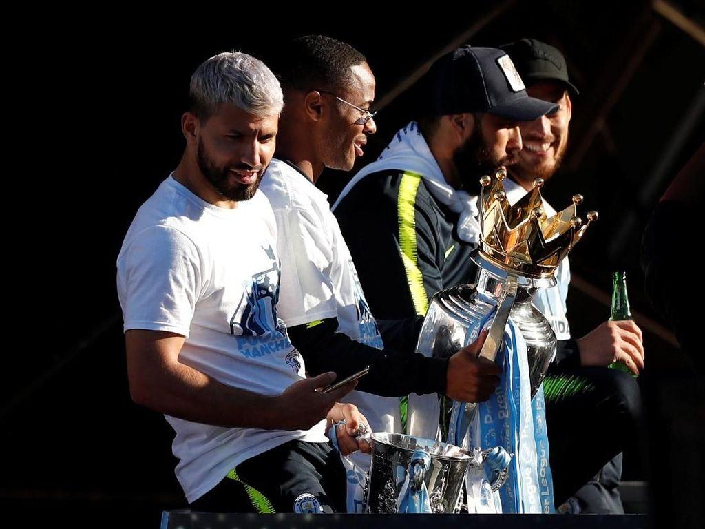 Sambangi Indonesia, Man City Bawa Enam Trofi Juara Musim Lalu
