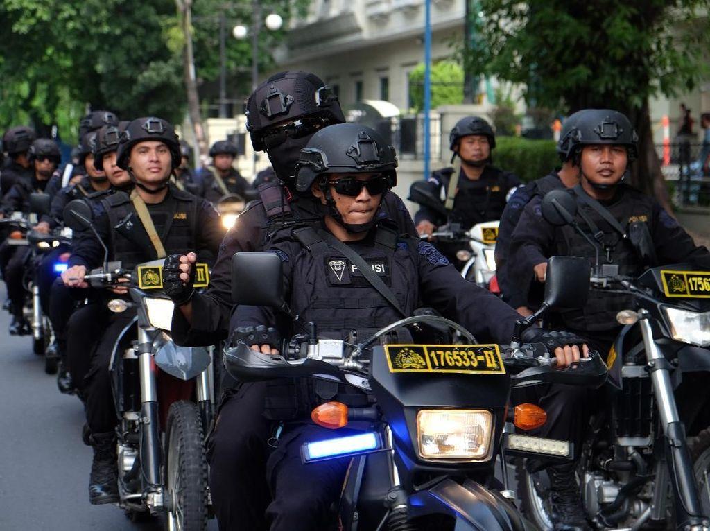 Begini Potret Pengamanan Jelang 22 Mei di Seluruh Indonesia