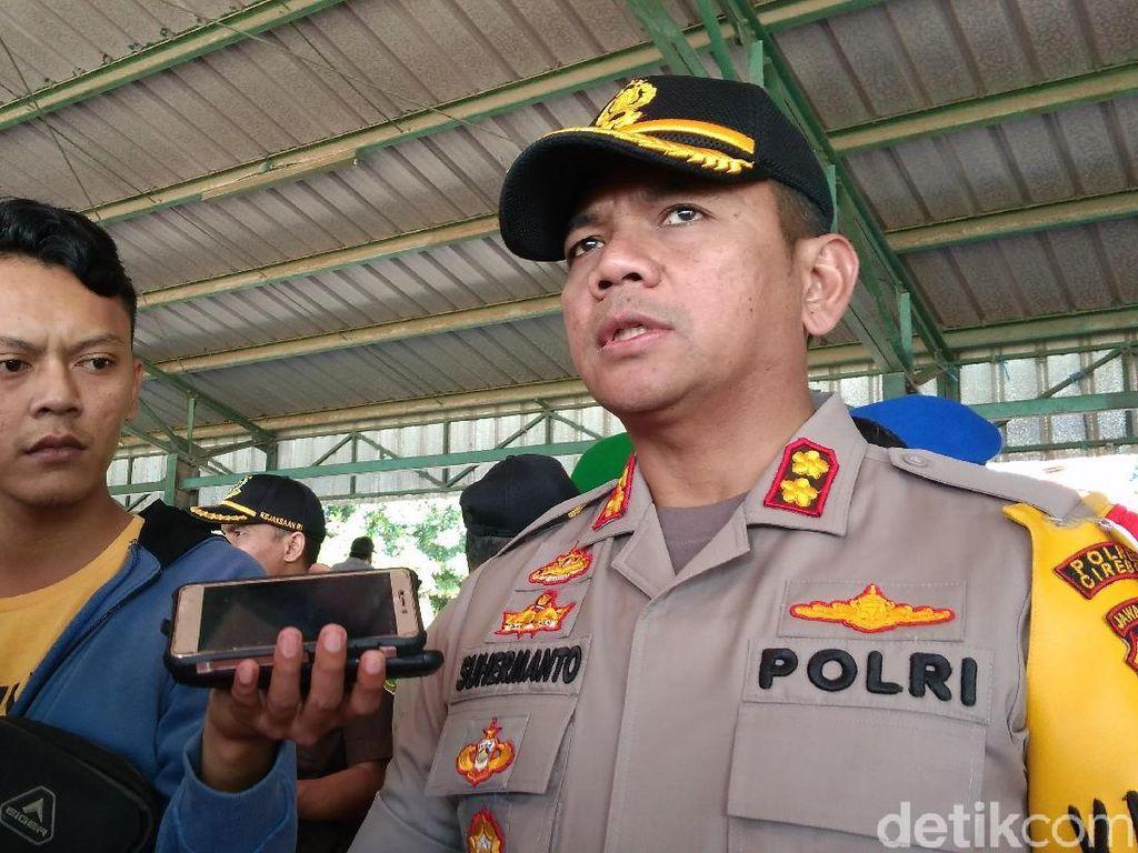 Polisi Cirebon Antisipasi Macet Mudik di 4 Titik Pasar Tumpah