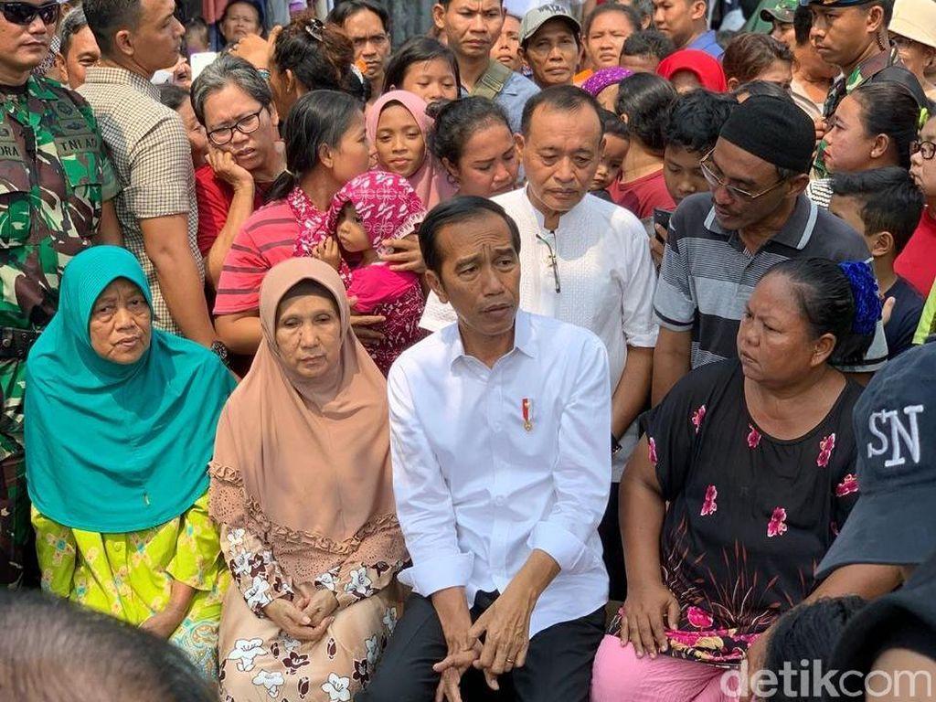 Jokowi: Saya dan Kiai Maruf akan Jadi Pemimpin 100% Rakyat Indonesia