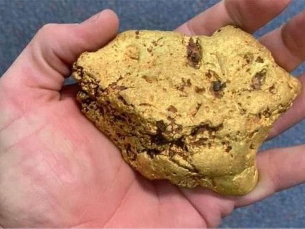 Wow! Bongkahan Emas Senilai Rp 1 M Ditemukan Pria Australia