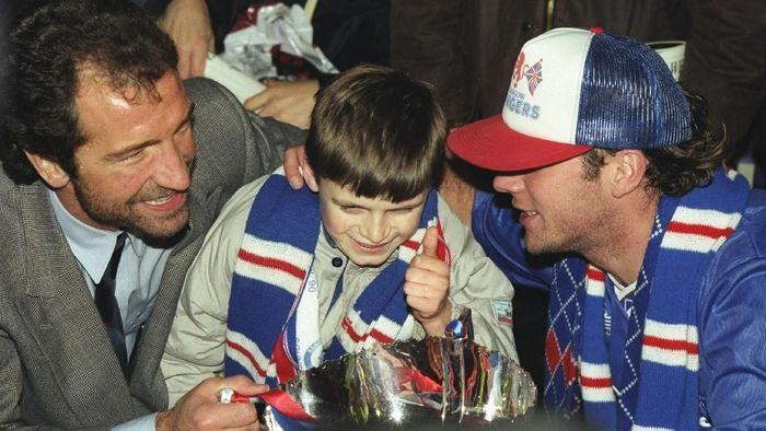 Graeme Souness merupakan pemain-manajer Rangers pada rentang 1986-1991. Dia sukses mempersembahkan 7 trofi untuk klub Skotlandia itu. (Foto: Russell Cheyne/Getty Images)