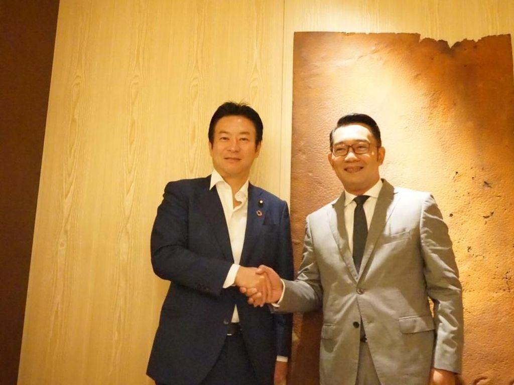 Ridwan Kamil Minta Bantuan Jepang Atasi Masalah Citarum dan Sampah