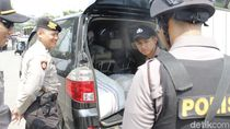 Jelang Aksi 22 Mei, Polisi Cegat Kendaraan di GT Padalarang