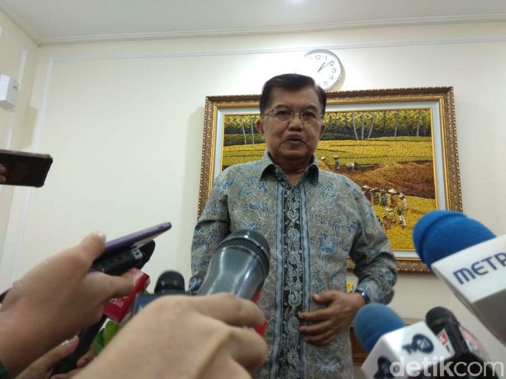 Wacana Gerindra Masuk Kabinet Jokowi, JK: Tergantung Pak Jokowi