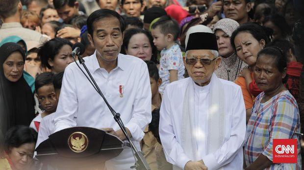 Jokowi dan Ma'ruf Amin Fleksibel Berbagi Tugas