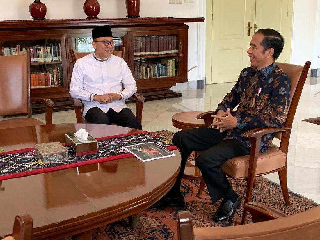 Setelah AHY, Zulkifli Hasan Temui Jokowi di Istana Bogor