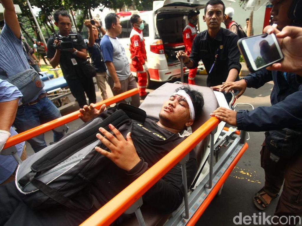 Korban Luka Kerusuhan Tanah Abang Dievakusi ke RS Tarakan