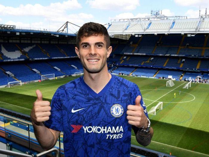 Christian Pulisic mengidolai Eden Hazard, akankah dia jadi penggantinya di Chelsea? (Twitter)