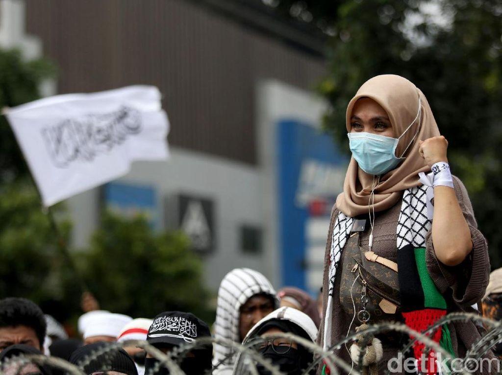 Massa Aksi 22 Mei Mulai Padati Depan Bawaslu