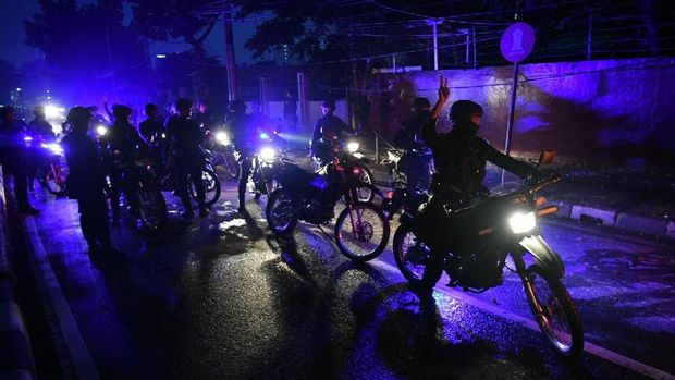 Malam Mencekam di Asrama Brimob Petamburan saat Rusuh 22 Mei