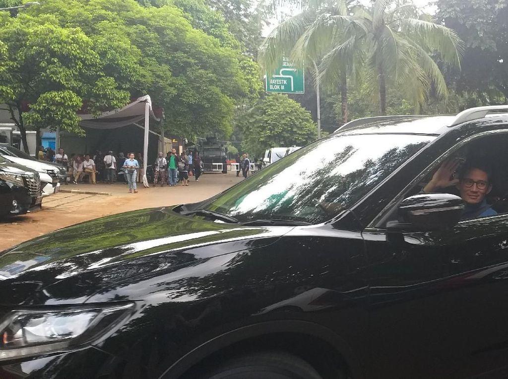 Sandiaga Susul Prabowo Merapat ke Kertanegara