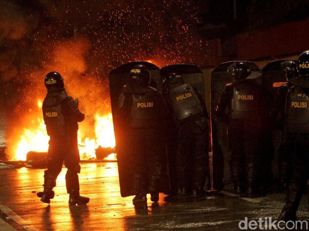 Polri: Massa Rusuh yang Bikin Ricuh Mayoritas dari Luar Jakarta