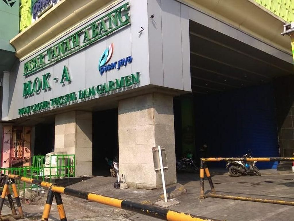 Imbas Aksi 22 Mei, Pasar Tanah Abang Tutup Sampai Sabtu